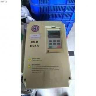 SỬA BIẾN TẦN CS-B HC1A 3 PHA 5,5KW ( TẢI NẶNG) CHẠY CHO MÁY ÉP THAN ĐÁ